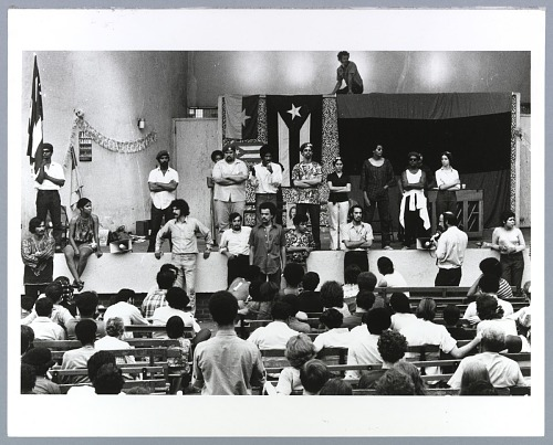 Image for Photograph of the Young Lords Party rally