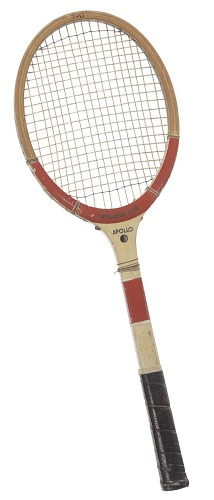 Image for Tennis racket used by Althea Gibson
