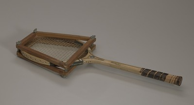 Tennis racquet used by Althea Gibson