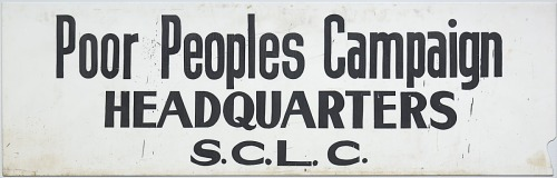 Image for Sign for the Poor People's Campaign Headquarters