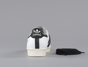 images for Pair of white and black Run-D.M.C. Superstar 80s sneakers made by Adidas-thumbnail 8