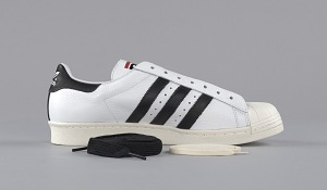 images for Pair of white and black Run-D.M.C. Superstar 80s sneakers made by Adidas-thumbnail 11
