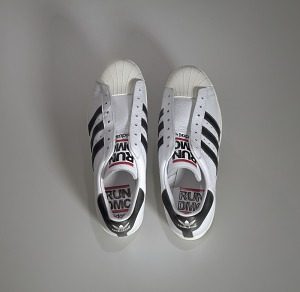 images for Pair of white and black Run-D.M.C. Superstar 80s sneakers made by Adidas-thumbnail 19