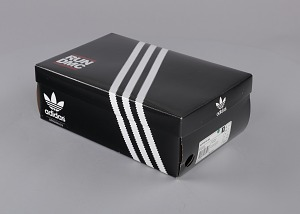 images for Pair of white and black Run-D.M.C. Superstar 80s sneakers made by Adidas-thumbnail 2