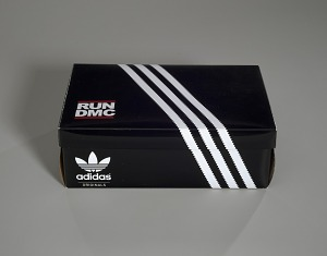 images for Pair of white and black Run-D.M.C. Superstar 80s sneakers made by Adidas-thumbnail 16