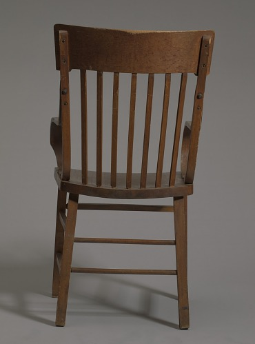 Image for Bentwood armchair from a church in Tulsa, Oklahoma