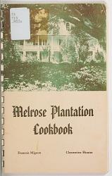 Melrose Plantation Cookbook