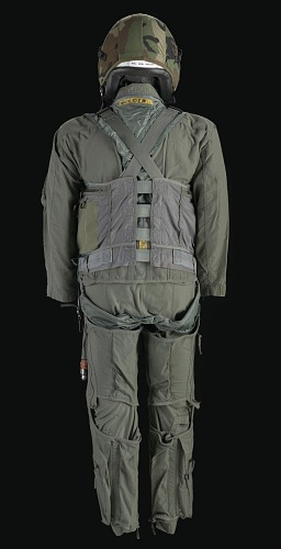 3cc9f4d8fa9 ... Image for Pilot flight suit and gear owned by Charles F. Bolden ...