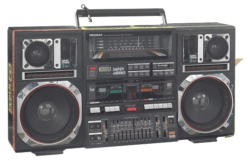 Image for Boombox carried by Radio Raheem in the film Do the Right Thing