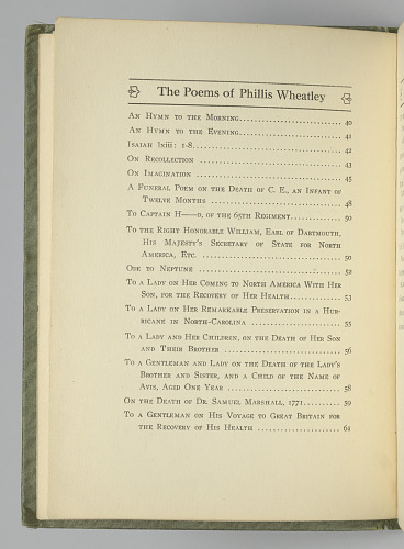Image for The Poems of Phillis Wheatley