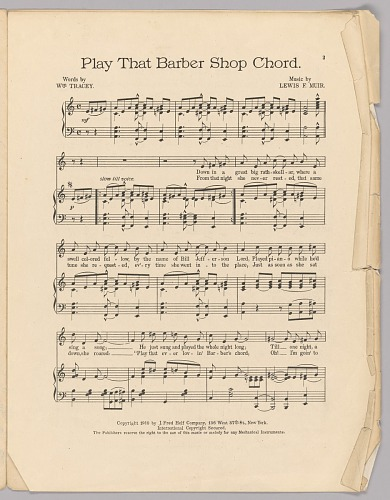Image for Play That Barber Shop Chord