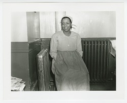 Photographic print of Ethel Waters in costume