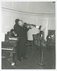 Photographic print of W.C. Handy