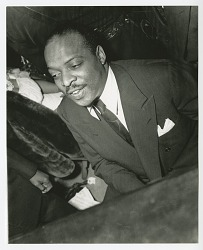 Photographic print of Count Basie