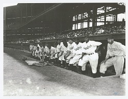Photographic print of the Pittsburgh Crawfords