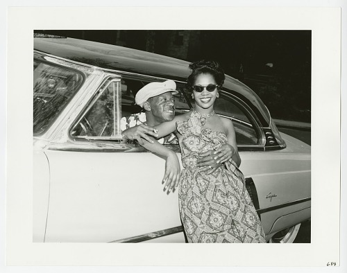 Image for Man in Car Flirting with Woman