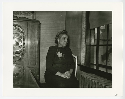 Image for Photographic print of Gold Star mother Mrs. Ulysses Williams