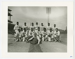 Photographic print of the 1941 Homestead Grays