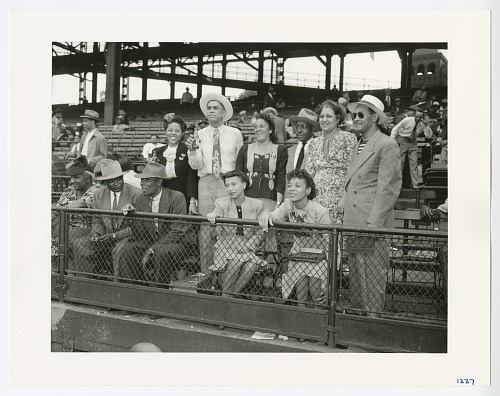Image for Photographic print of spectators at Forbes Field