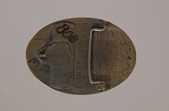 Image for Belt buckle for the Stuntmen's Association of Motion Pictures owned by Bob Minor