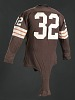 Thumbnail for Jersey for the Cleveland Browns worn and signed by Jim Brown