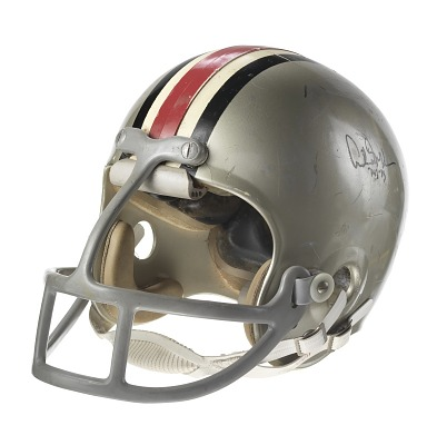 Ohio State Buckeyes football helmet worn by Archie Griffin