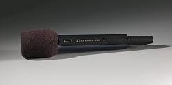 Black wireless microphone used on The Oprah Winfrey Show