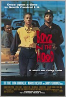 Film poster for Boyz n the Hood