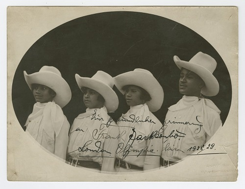 Image for Photograph of a group in western attire