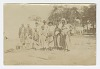 Thumbnail for Photograph of men, women, and children in a yard