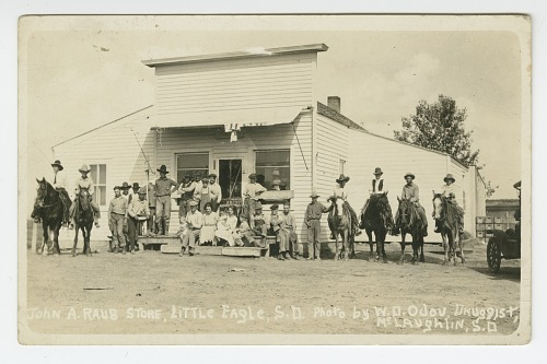 Image for John A. Raub store, Little Eagle, S.D.
