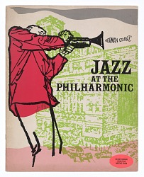Program for Norman Granz' Jazz at the Philharmonic