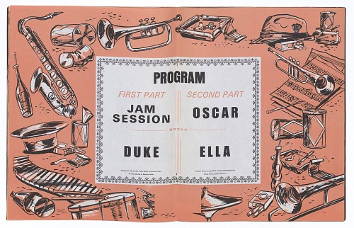 Image for Program for Norman Granz' Jazz at the Philharmonic