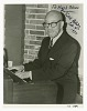 thumbnail for Image 1 - Autographed photograph of Eubie Blake playing the piano