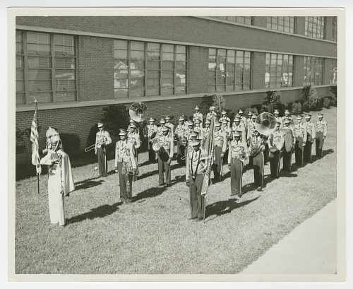Image for Photograph of the St. Augustine High School marching band, the