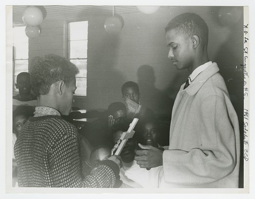 Image for Photograph of students at St. Augustine High School