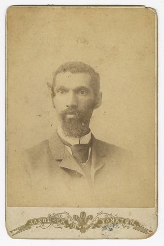 Image for Photograph of a man with a beard
