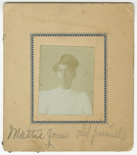 Image for Photograph of Mattie Jones