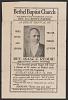 thumbnail for Image 1 - Advertisement card for gospel singer Rev. Isaac C. Reddie