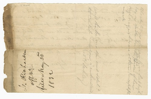 Image for Pass for free woman Harriet Lawson to visit her husband, Caleb