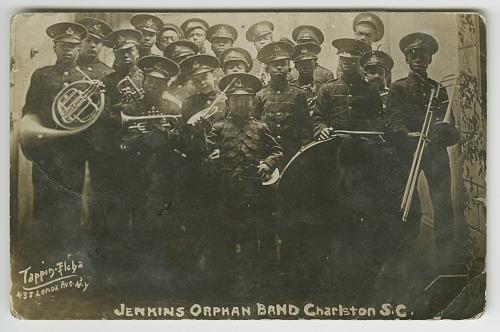 Image for Photograph postcard of the Jenkins Orphanage Band, Charleston, South Carolina