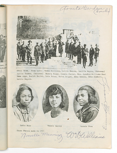 Image for Class photo album for a Booker T. Washington High School reunion, Tulsa