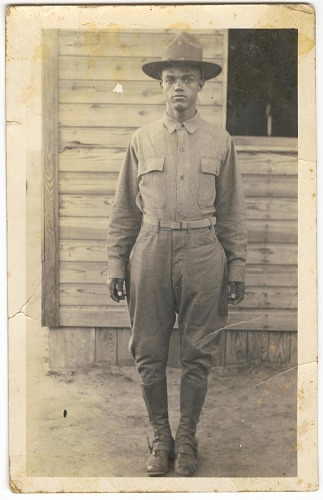 Image for Photographic print of a man in military uniform