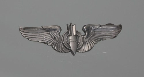 Image for Aircraft observer badge owned by Fenton B. Sands