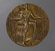 Bronze participation medal for the 1936 Berlin Olympics