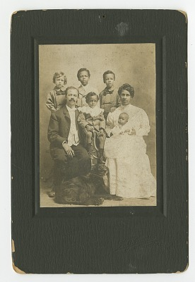 Photograph of Senator Henry Hall Falkener and family