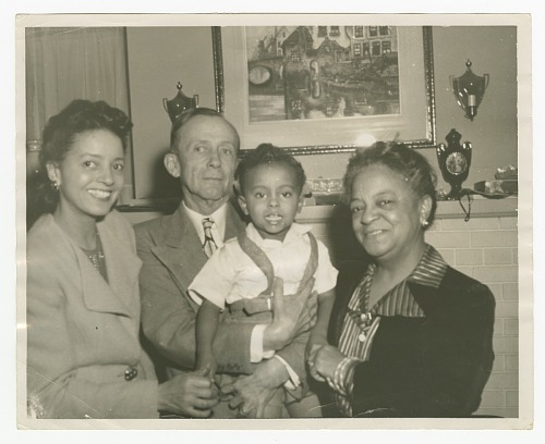 Image for Photograph of Thomas W. Holmes and family