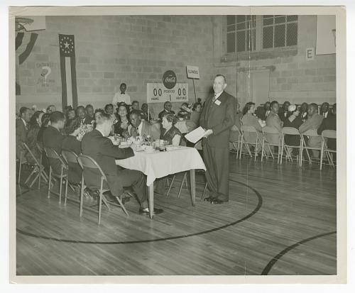 Image for Photograph of Eugene Martin, Atlanta Life Insurance Company reception