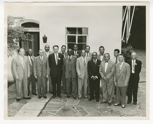 Image for Photograph of the senior officers of Atlanta Life Insurance Company