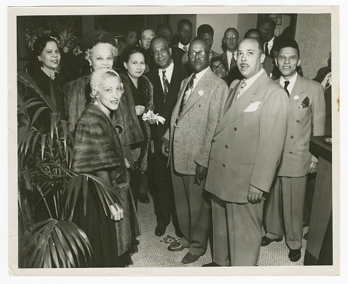 Image for Photograph of an Atlanta Life Insurance Company, Chicago branch event